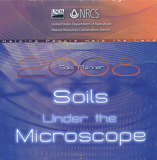 Cover of the 2008 Soils Planner.