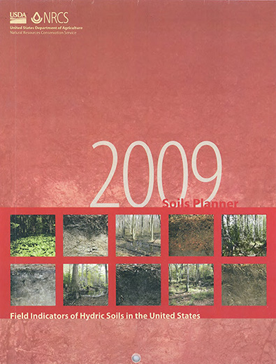 Cover of the 2009 Soils Planner.