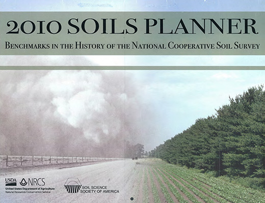 Cover of the 2010 Soils Planner.