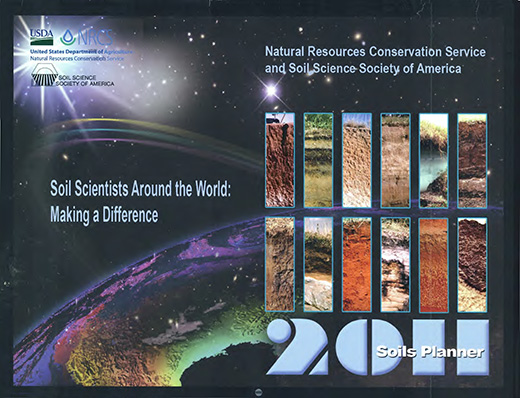 Cover of the 2011 Soils Planner.