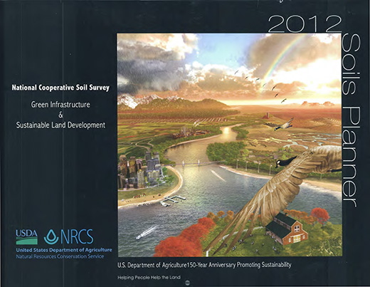 Cover of the 2012 Soils Planner.