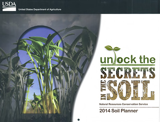 Cover of the 2014 Soils Planner.