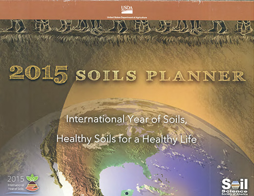 Cover of the 2015 Soils Planner.