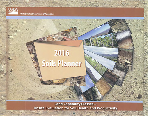 Cover of the 2016 Soils Planner.