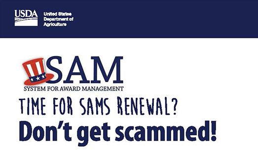 Don't Be Fooled by SAM Scam