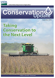 September 2016 Conservation Update Cover