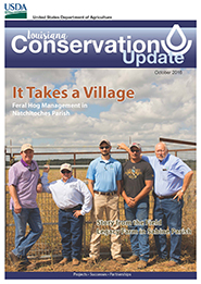 October 2016 Conservation Update Cover