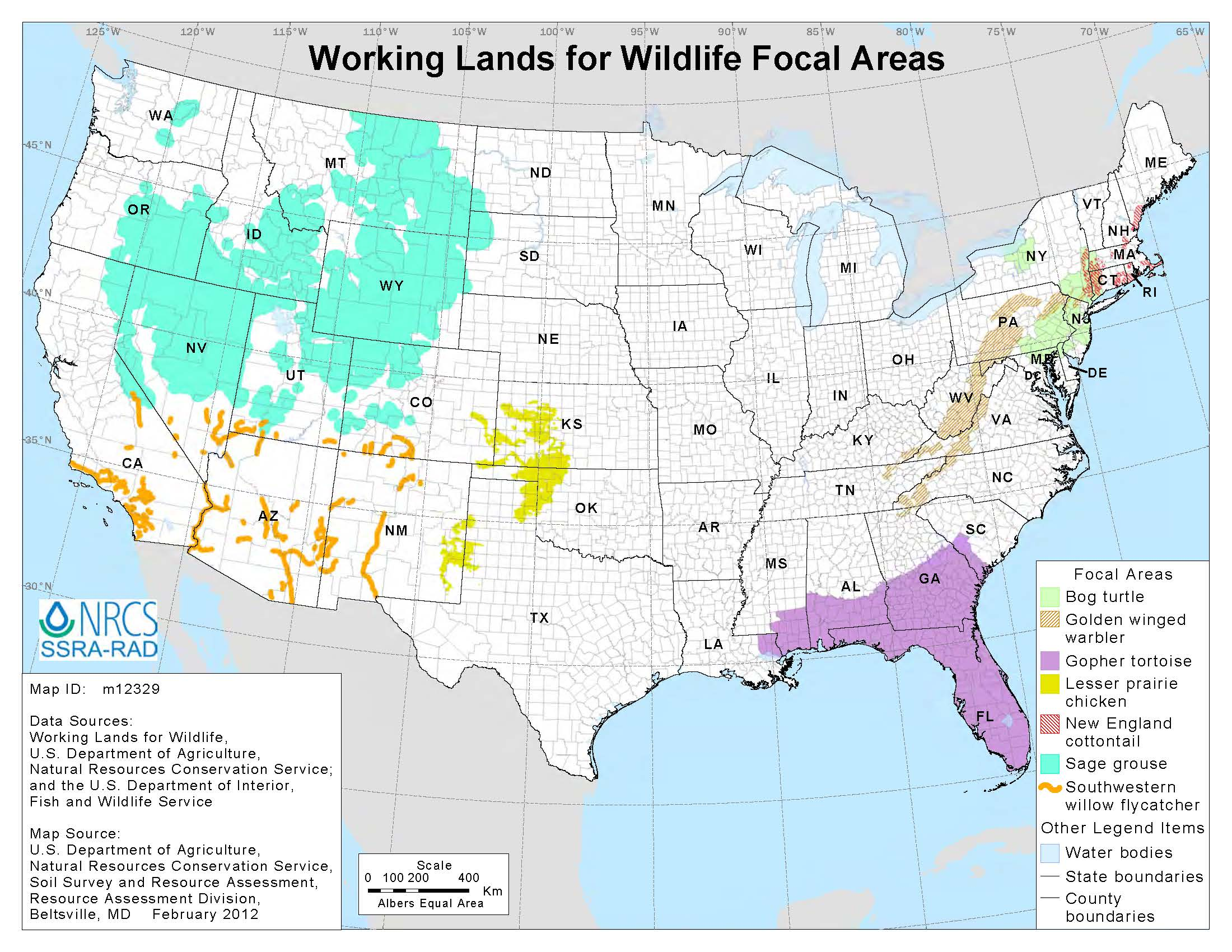 Working Lands for Wildlife image