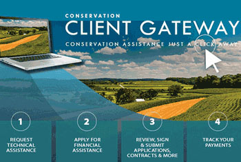 Conservation Client Gateway: Conservation Assistance Just a Click Away