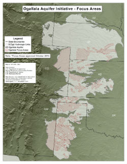 thumbnail of map focus areas for fy17 ogallala aquifer initiative
