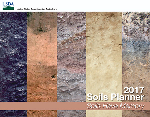 Cover of the 2017 Soils Planner.