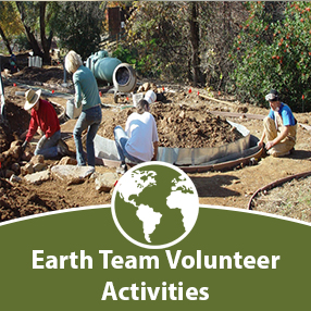 Click here for Earth Team Activities