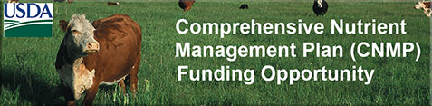 Comprehensive Nutrient Management Plan Funding Opportunity