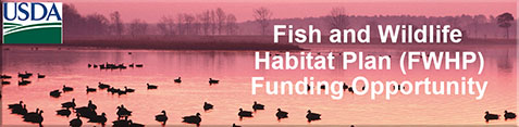 Fish and Wildlife Habitat Plan (FWHP)Funding Opportunity