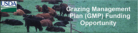 Grazing Management Plan (GMP) Funding Opportunity