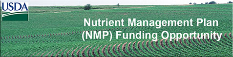 Nutrient Management Plan (NMP) Funding Opportunity