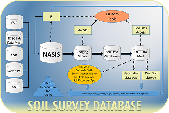 Main photo for the Soil Survey Database Team.