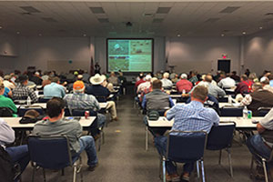 Over 250 people attended the first annual soil health short course