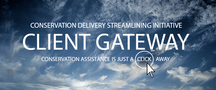 Blue Conservation Client Gateway graphic