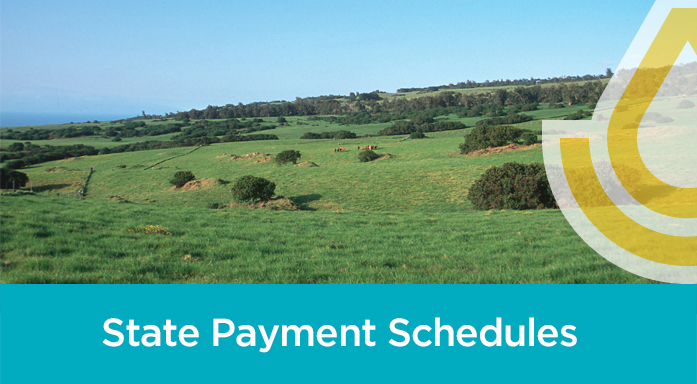 State Payment Schedules Header