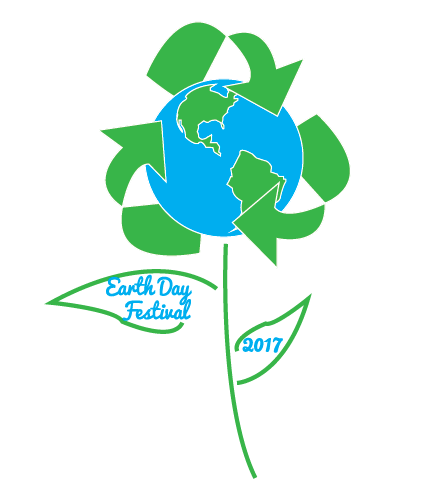 Bismarck Earth Day Festival 2017 winning design by Kyra Sullivan