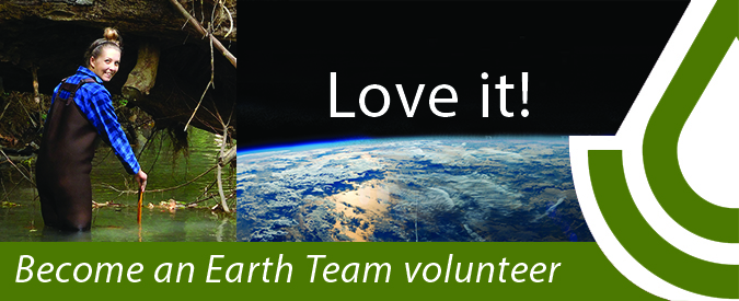 Become an Earth Team Volunteer