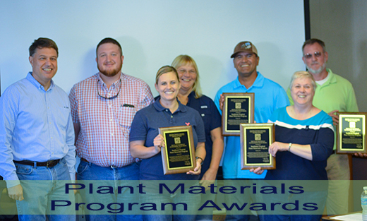 2016 Plant Materials Program Awards recipients