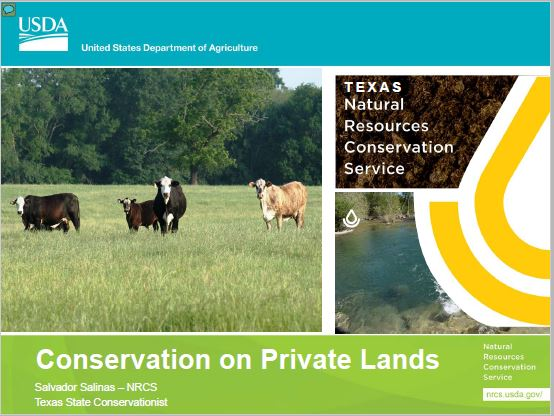 Conservation on Private Lands