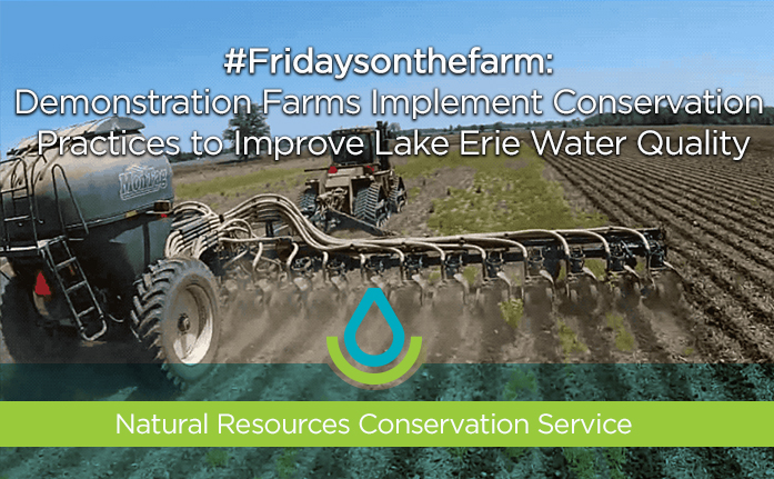 #Fridaysonthefarm: Demonstration Farms Implement Conservation Practices Cover