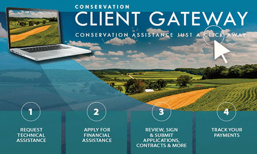 Client Gateway – Your online portal to managing your conservation management needs