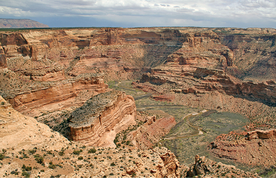 Figure 2-6. A canyonlands landscape in the San Rafael Swell, Utah.