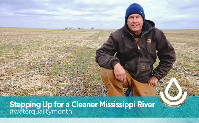 Stepping Up for a Cleaner Mississippi River Header
