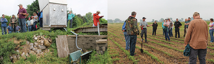 From cover crops that reduce runoff of soil and nutrients, to water quality monitoring, farmers have the tools they need to help improve water quality.
