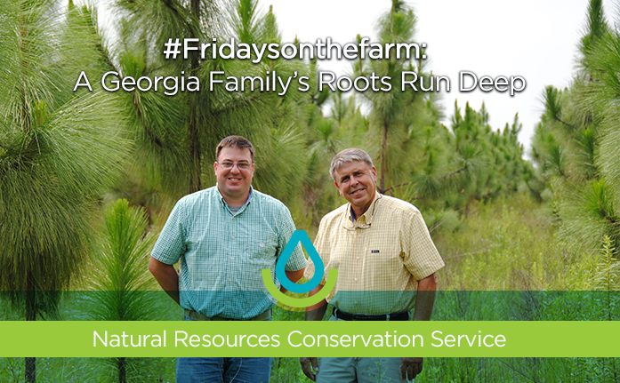 #Fridaysonthefarm: A Georgia Family's Roots Run Deep