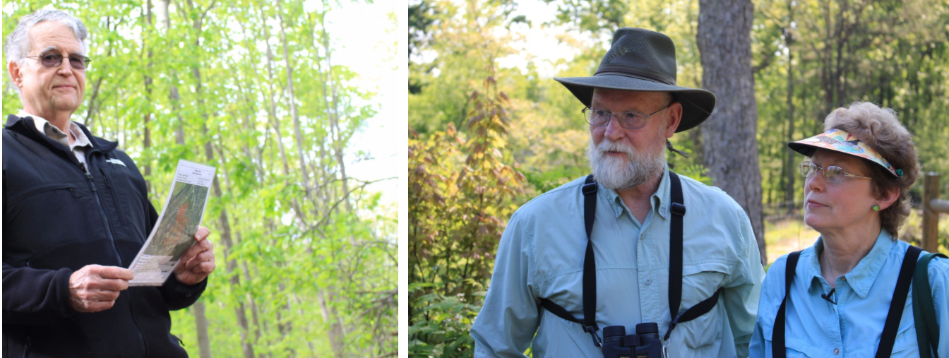 John Hoover (photo 1) and Mike and Laura Jackson (photo 2) are among many landowners in Appalachia who are using sustainable forestry practices recommended by USDA's Natural Resources Conservation Service.