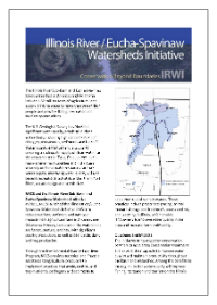 screenshot of Illinois River Sub-Basin and the Eucha-Spavinaw Lake Watershed report cover