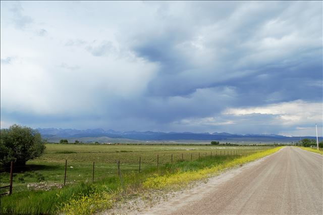 Wind Rivers - Ranching country in Pinedale WY by Brianna Randall