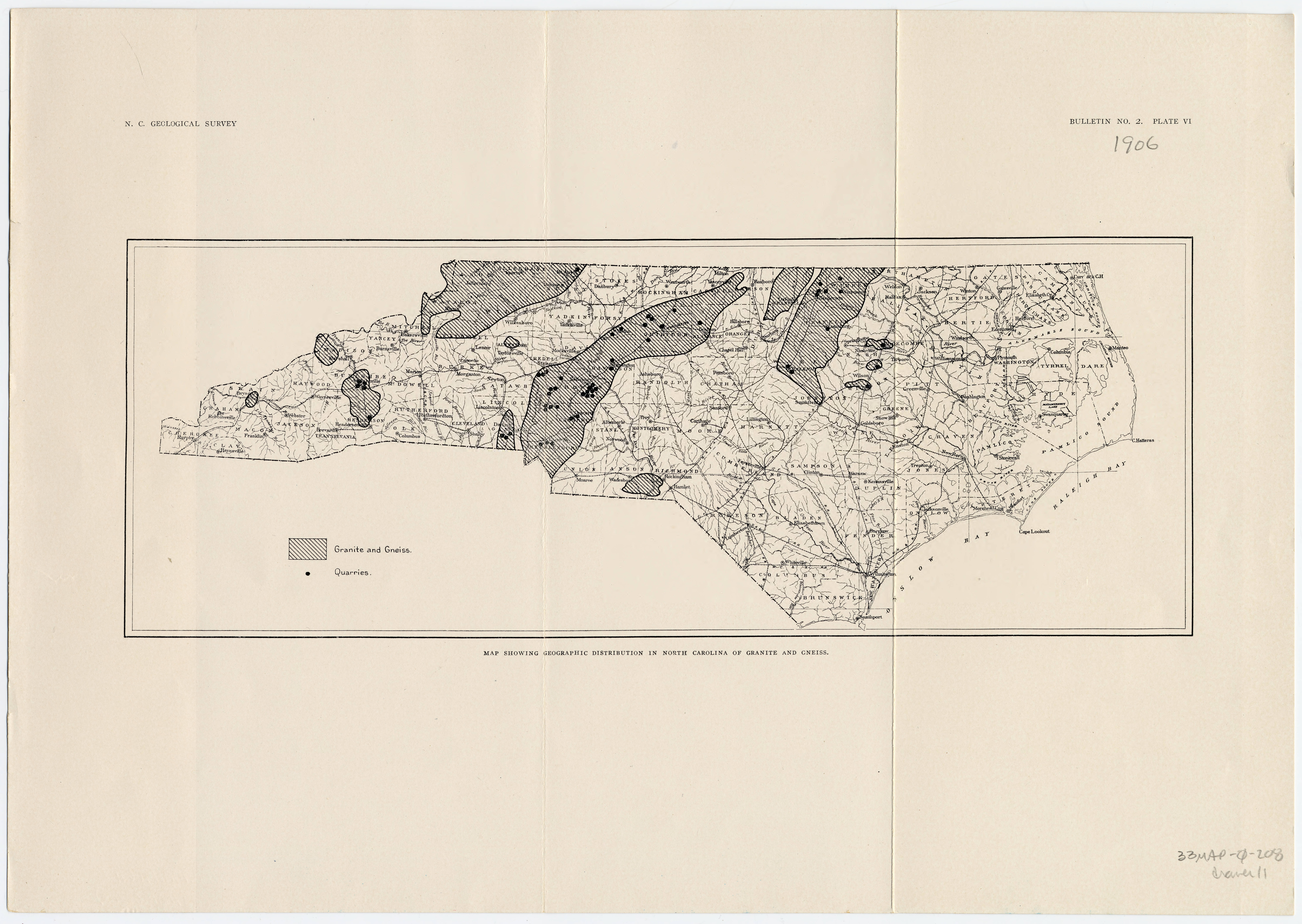 Map_showing_geographic_distribution_in_North_Carolina_of_granite_and_gneiss