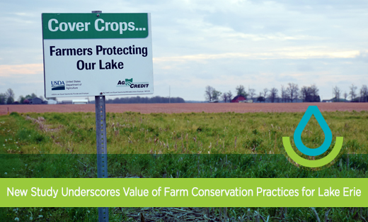 Link to press release: New Study Underscores Value of Farm Conservation Practices for Lake Erie