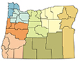 Icon of Oregon Counties