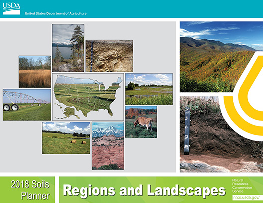 Cover of the 2018 Soils Planner.
