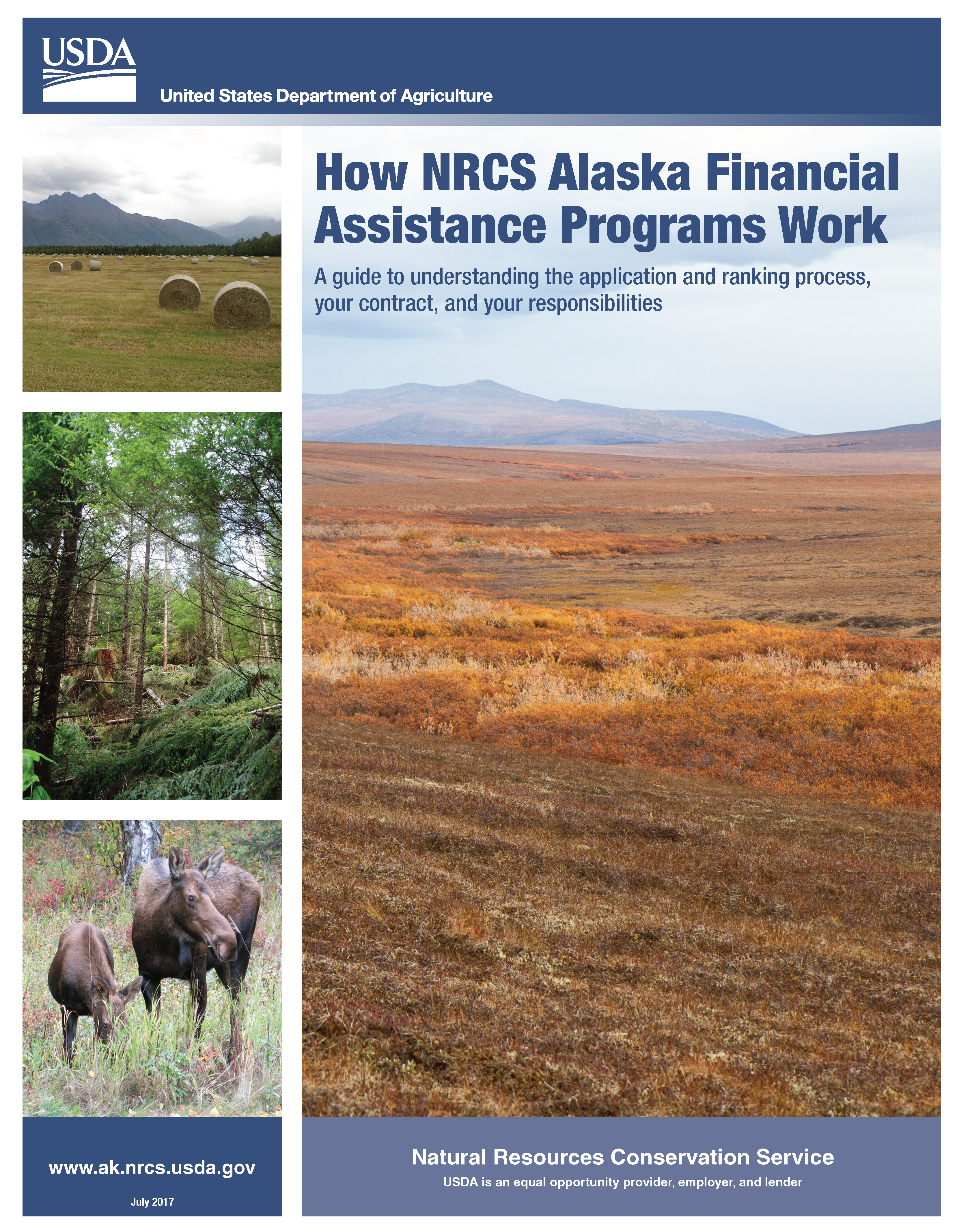 How NRCS Financial Assistance Programs Work