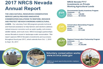 2017 NRCS Nevada Annual Report