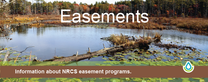 Information about NRCS easement programs.