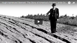 Hugh Hammond Bennett and the History of Private Land Conservation video