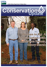 January 2018 Louisiana Conservation Update Cover