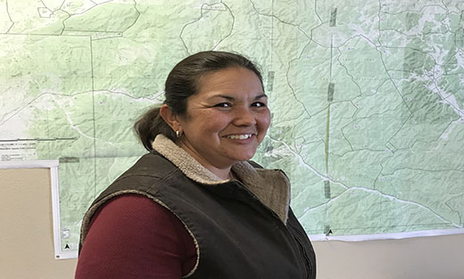 Photo of Amalia Montoya, Area Rangeland Management Specialist in the Alamogordo Field Office part of Team 9