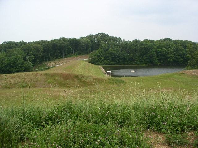 Pool and Auxiliary Spillway