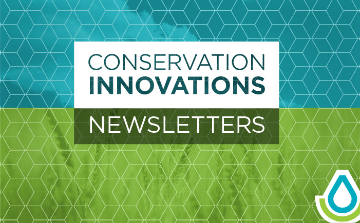 The Conservation Innovation newsletter is an online publication featuring news about NRCS' Conservation Innovation Grant (CIG) program.