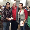 Cristela and Leanne pictured with a Soil and Water Conservation board members for Matagorda County.